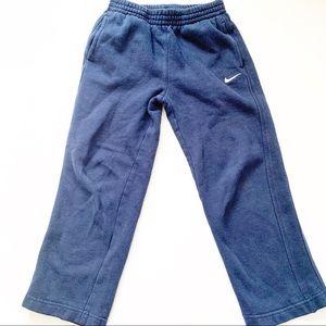5/$25 Nike blue Kids Boys sweat pants size 6